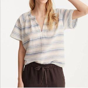 Lou & Grey Striped Cropped Top